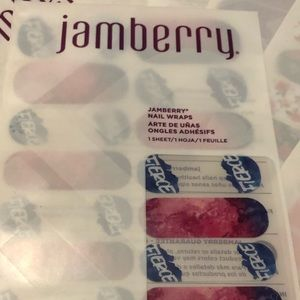 Jamberry nail set fierce